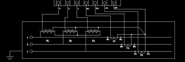 25 0 如果是三相四线制,你必须采用三个电流互感器.