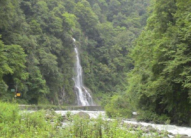 邛崃南河风景图