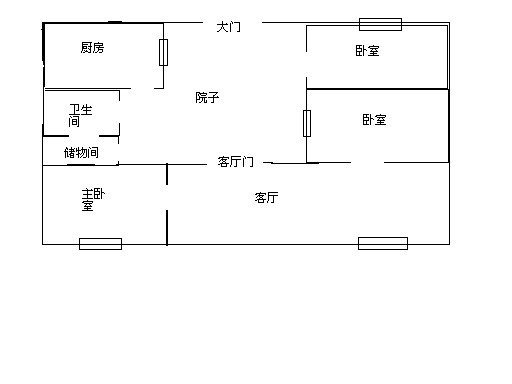 坐北朝南的房子财位 坐北朝南房子设计图 坐北朝南户型图大全 客厅的