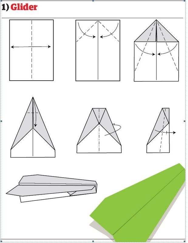 叠纸飞机的方法