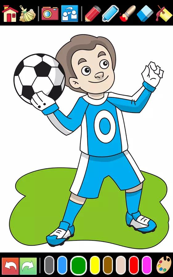 c罗足球卡通图片