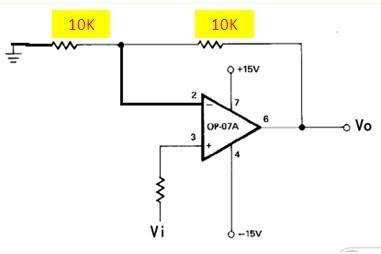 请教一个op07放大电路的问题