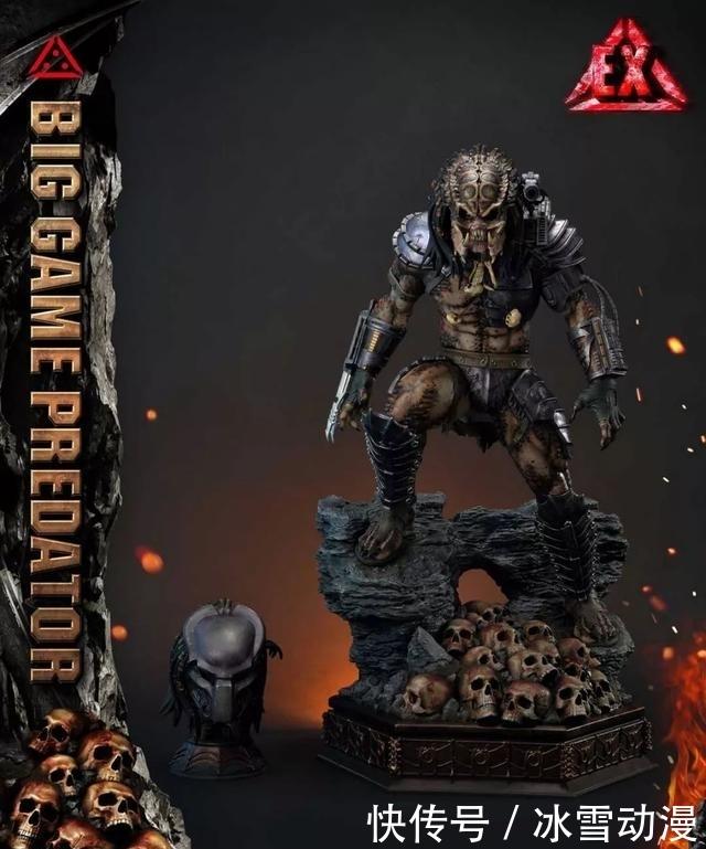 P1s推出铁血战士雕像!超多骷髅头,魄力十足
