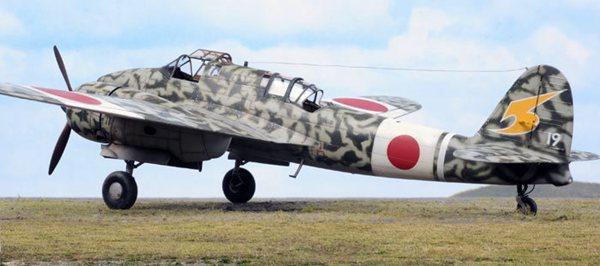 二战日军唯一全天候战斗机