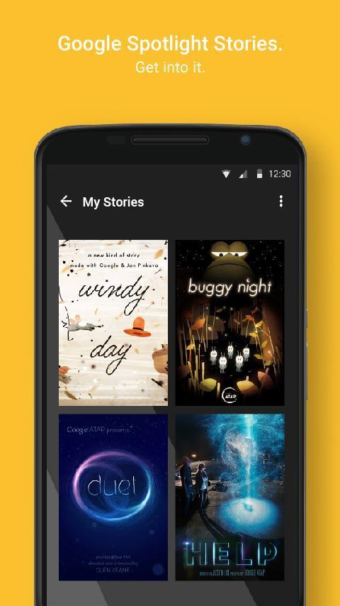 Google Spotlight Stories截图4