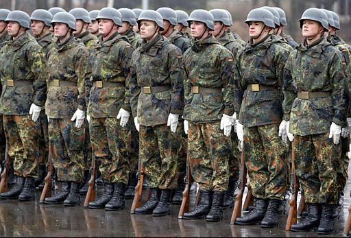 德国国防部正对联邦国防军内所有建筑进行大搜查.