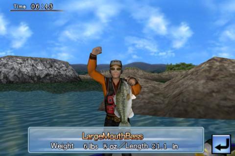 3D鲈鱼钓场 Bass Fishing 3D on the Boat截图4