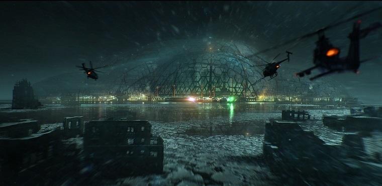 《孤岛危机》游戏画面