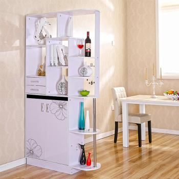 客厅玄关柜简易隔断柜双面欧式酒柜