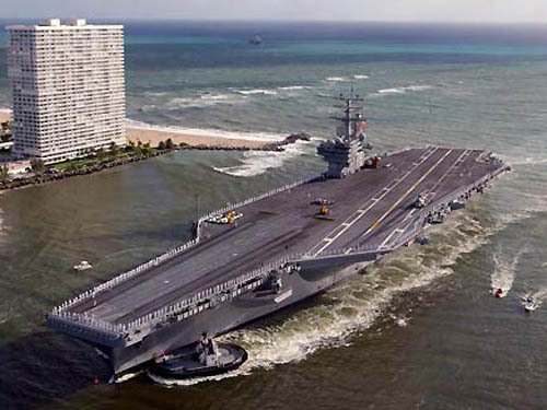 里根号航空母舰