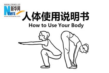 人体使用说明书!