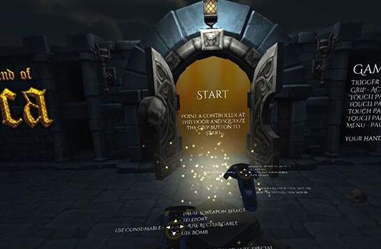 《卢卡传说》VR游戏体验评测:VR里探索随机地牢的迷宫