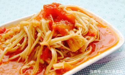 每日推荐美食:西红柿烩金针菇肉末炒玉米可乐排骨啤酒鸭