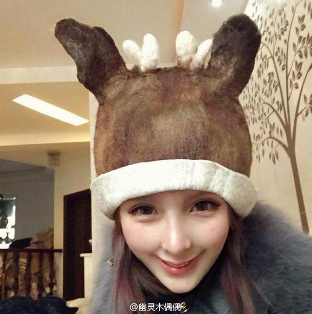 幽灵木偶偶微博头像的鹿帽子哪里有得买?