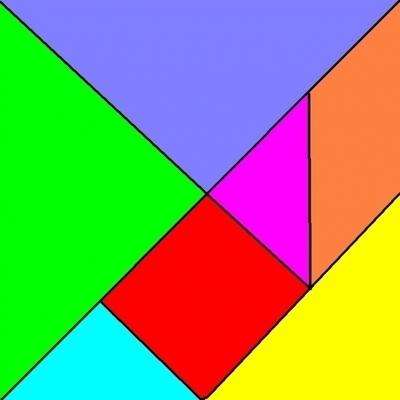 梯形.三角形.长方形.正方形绘制出一个