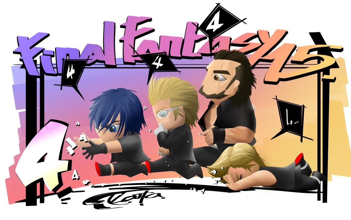 《最终幻想15》倒计时四天宣传画公布