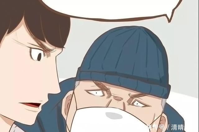 漫画:挺身而出的父女