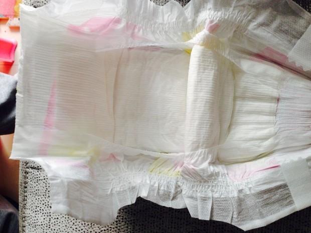 这个纸尿裤芯体结构式什么?