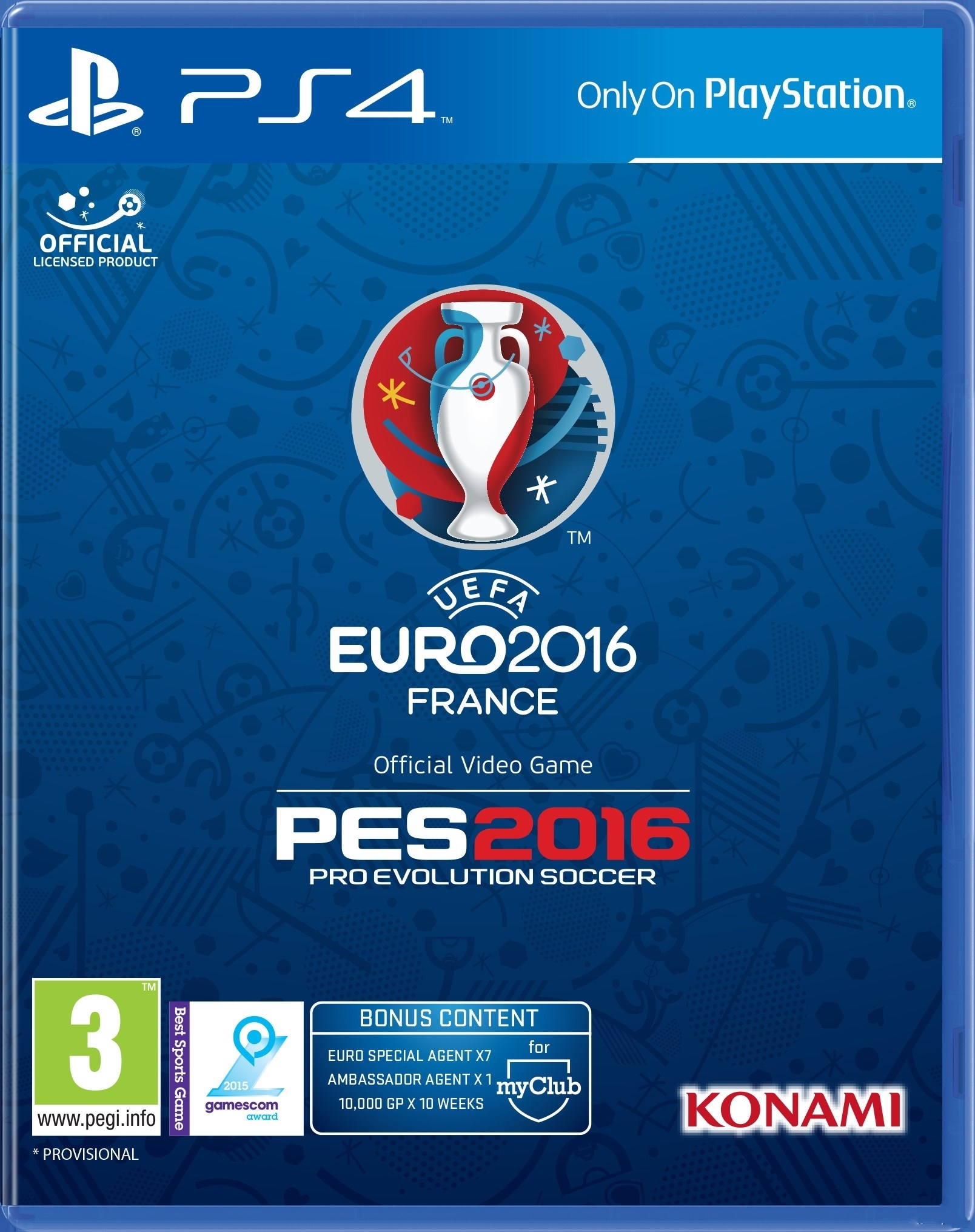 实况足球2016欧洲杯DLC上市