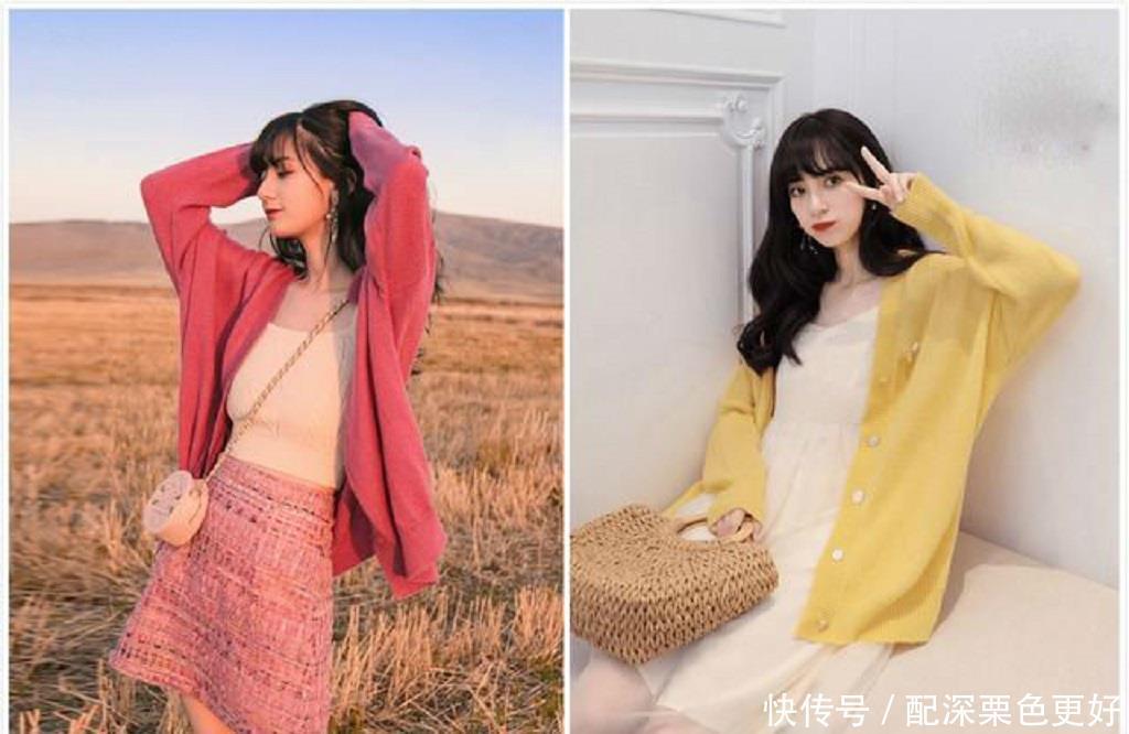 秋天了,被提上日程的针织衫,怎么穿搭才高级更有女人味?