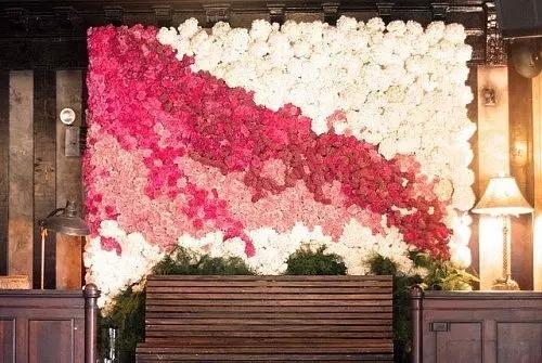婚礼花墙怎么做