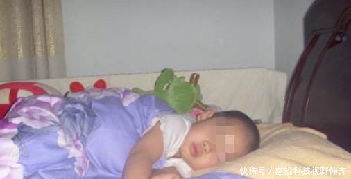 1岁宝宝半夜大哭,宝妈哄很久才入睡,第二天医