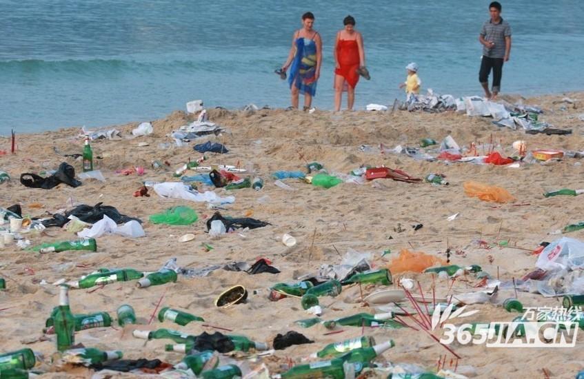 环境污染下的小动物们
