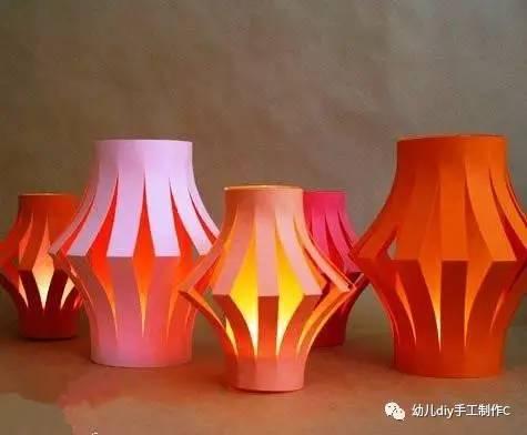 手工制作灯笼图解步骤图 手工制作灯笼的方法步骤
