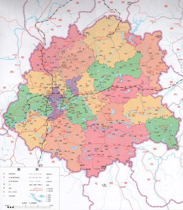 塔山风景区地图