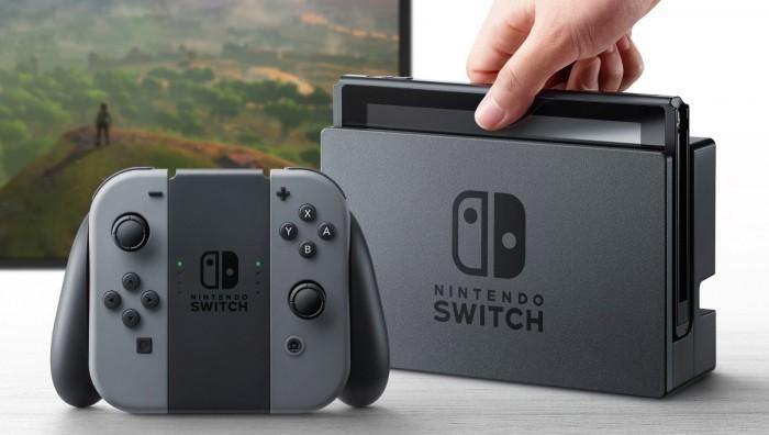 任天堂对新主机Switch信心满满 出货预期千万