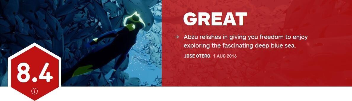 《ABZU》IGN评分8.4