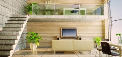 楼中楼客厅装修的效果图欣赏以及注意事项
