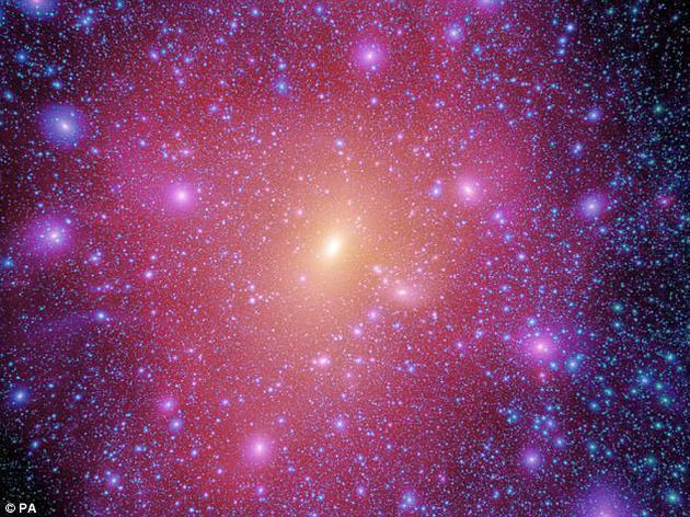 科学家首次获得暗物质桥图像:连接不同星系 - Wiley - 健康之路