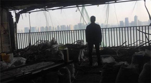 杭州保姆放火案起火房屋内景首次曝光