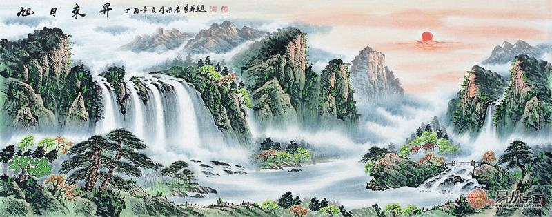 宋唐山水画中的风景赏析