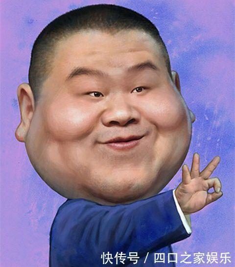 明星届漫画的漫画像:岳云鹏最逗宋小宝最传神4喜剧回图片