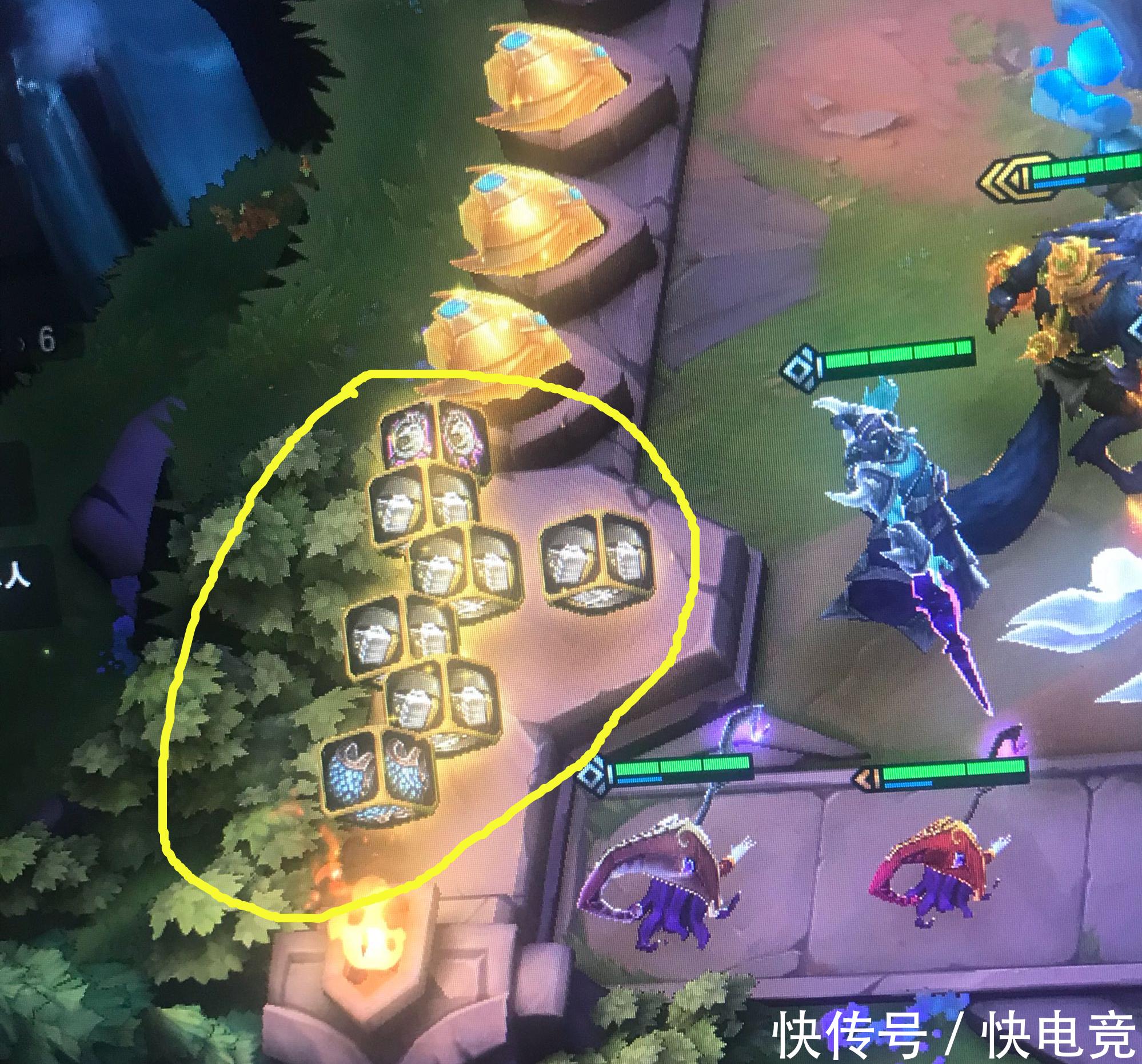 云顶之弈开挂玩家在游戏中遇到一个承认自己开挂的对手!(图4)