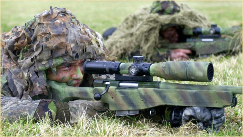 军队武器简笔画