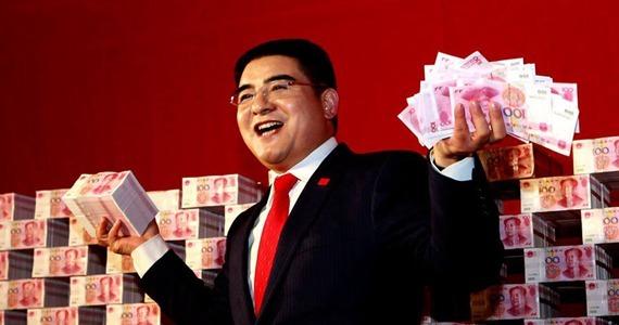 陈光标16吨人民币助推经济大普查