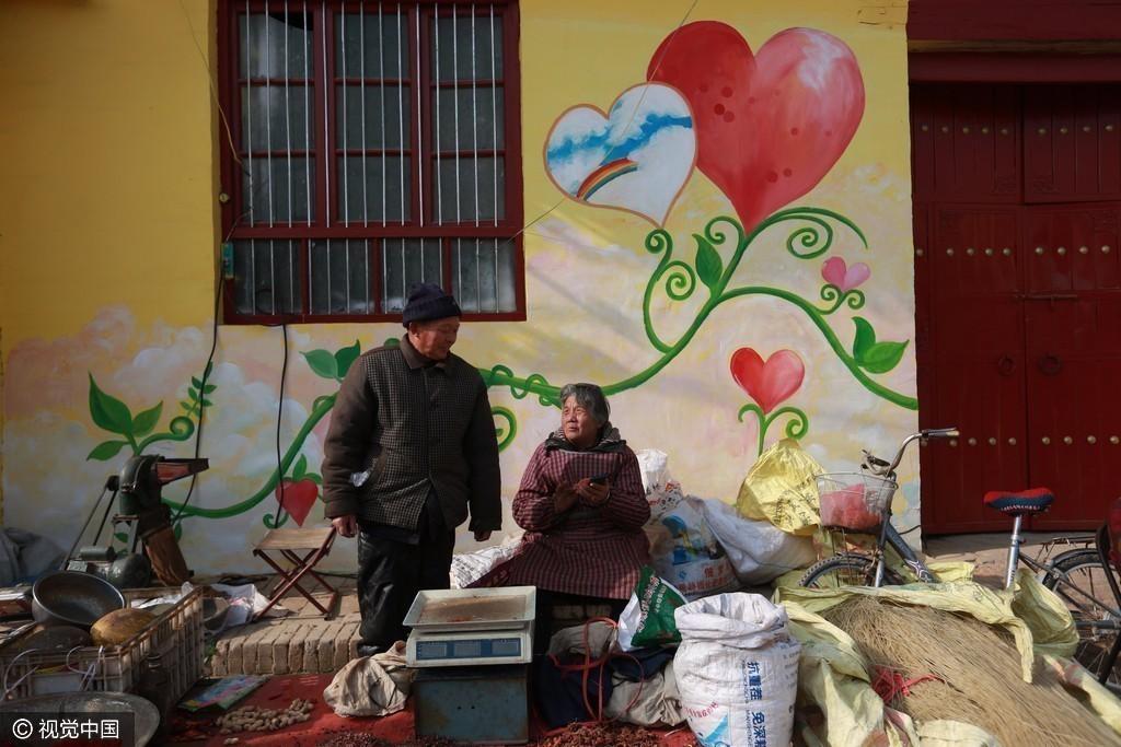 """陕西渭南:黄河边""""七彩渔村"""" 恍如童话世界 - 周公乐 - xinhua8848 的博客"""