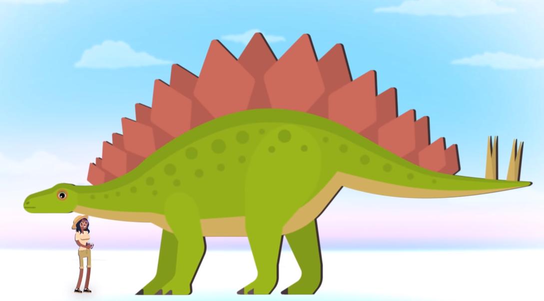 直观告诉你恐龙有多大,总有一个震撼你