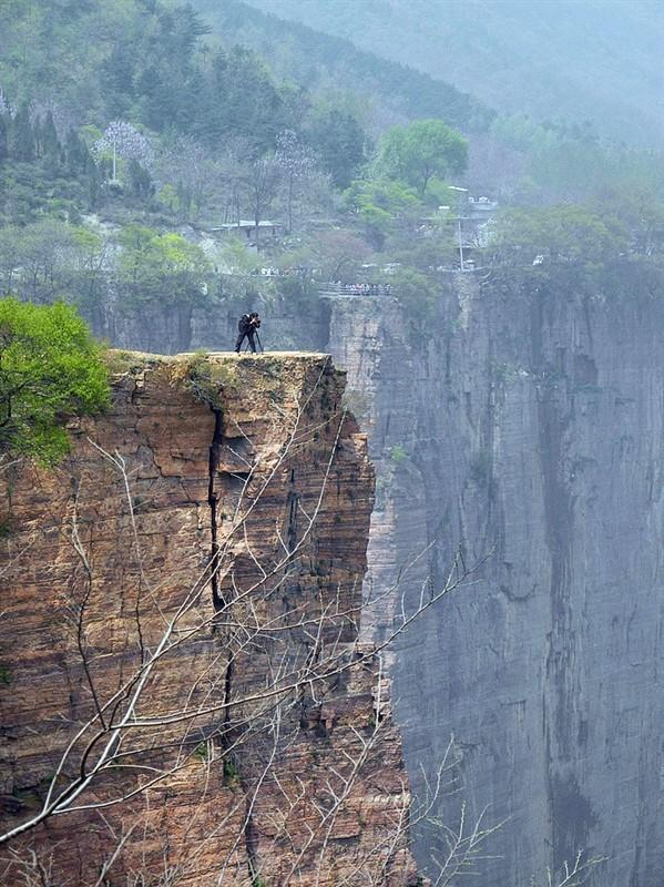 世界上最危险的村庄--河南辉县郭亮村,你敢去吗?                【图文转载】 - 兰州李老汉 - 兰州李老汉(五级拍客)