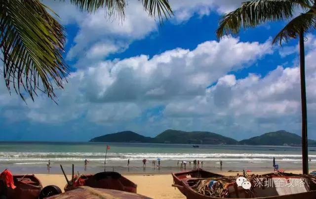 夏天海边游玩攻略,深圳周边27处海边沙滩景区,含自驾攻略!