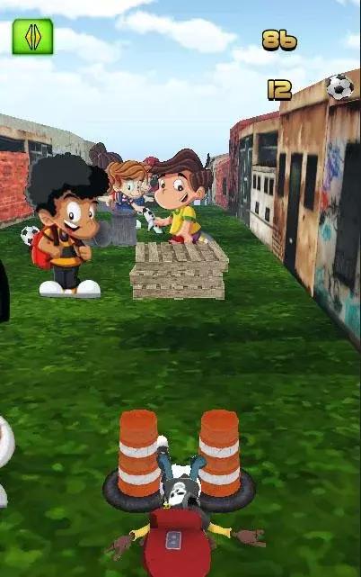 >足球润杯  欢迎来到巴西里约热内卢贫民区的孩子成为明星足球赛运行