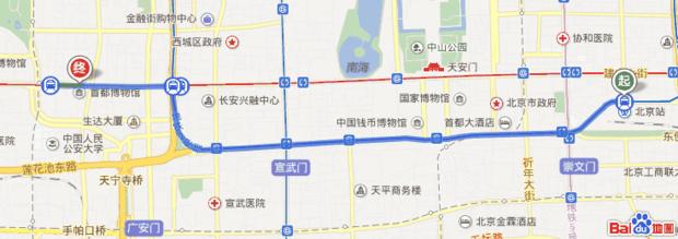 北京站 6站乘坐 地铁2号线(内环), 在 复兴门站 下车 140米站内换乘 地铁1号线(苹果园方向) 9站乘坐 地铁1号线(苹果园方向), 在 八角游乐园站 下车(A北口出) 830米步行至 京燕饭店 京燕饭店