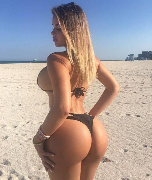 她认为自己的臀部是世界上最丰满的臀部,比卡戴珊的臀部还要丰满.