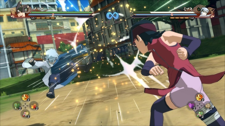 《火影忍者究极忍者风暴4:博人之路》游戏截图