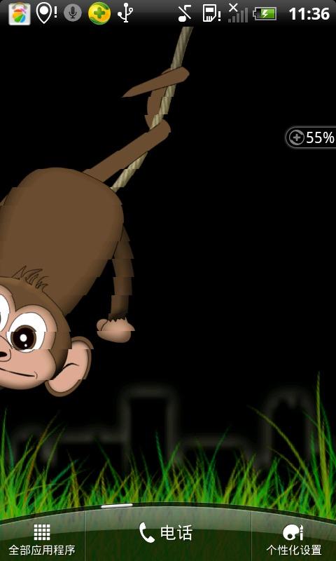 猴子动态壁纸_360手机助手
