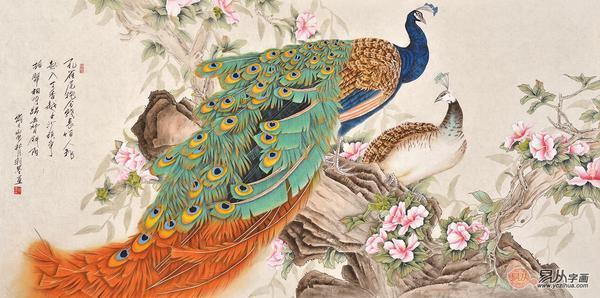 力派画家羽墨 工笔花鸟画的典范人物