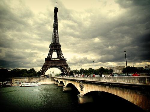 埃菲尔铁塔唯美图片_好搜问答